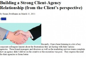 relationship of agency and client